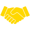Trust Source Icon yellow 300x300